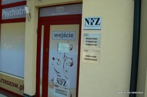 Wejście do Oddziału